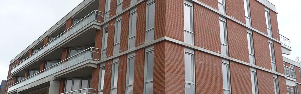 Meteoor - Radarstraat IJmuiden - 42 huurappartementen en ondergrondse stalling garage
